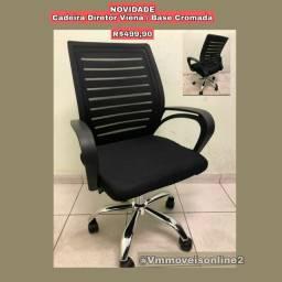 Título do anúncio: Cadeira Diretor Viena Fazemos Entrega em Goiânia e Aparecida