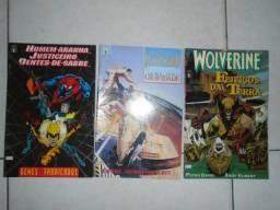 Revistas Da Editora Marvel Em Formato Americano (lote)