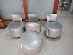 Cadeira / carrinho para manicures