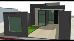 Título do anúncio: Belíssima casa nova no Jd Itatiaia - Com piscina e no asfalto!