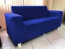 Sofa de 3lu-encosto fixos tam 1,80m - direto de fábrica 1.880,00 Á vista