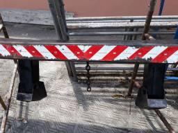 Parachoque traseiro retrátil pra carreta ou caminhão
