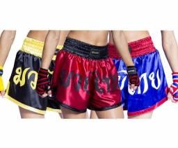 Shorts Muay Thai: One Sport, Adulto, Unissex