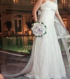 Título do anúncio: Vendo vestido de noiva Nova Noiva