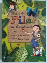 Livro Diário de Pilar na Amazônia