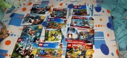 R$300 VENDO OU TROCO COLEÇÃO LEGO MAIS DE 1500 PEÇAS ORIGINAIS MAIS DE 13 LEGOS