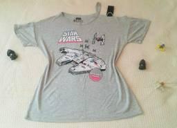 Camiseta feminina Star Wars M