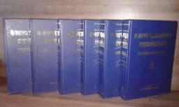 Imperdível! Novo Testamento Interpretado-6 Vol. Em excelente estado