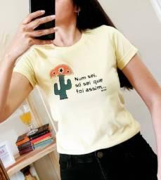 T- Shirt Feminina -Num sei, só sei que foi assim!