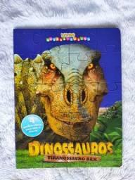 Dinossauros Alossauro - Livro Quebra-Cabeça