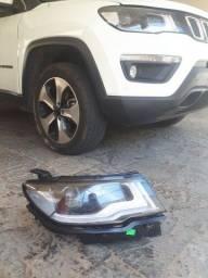 Título do anúncio: Farol Direito Jeep Compass Original