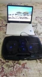 Noltebook LG modelo 14U389 + Base Resfriadora