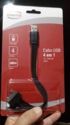 Título do anúncio: Cabo USB 4 em 1