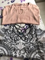 Título do anúncio: Blusas femininas as duas peças por 15