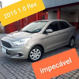 FORD KA 1.0 SEDAN 2015 COMPLETO IMPECÁVEL