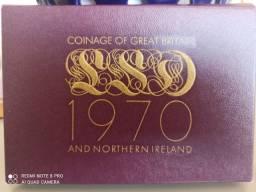 Título do anúncio: Moedas coleção _ 1970 _ Clonagem Of Great Britain