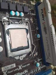 Título do anúncio: Kit 1155 core i3 3250,4gb ram hyperx