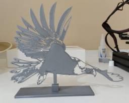 Águia Americana Impressa em 3D