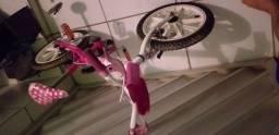 Bicicleta infantil feminina Caloi