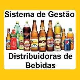 Título do anúncio: Sistema de Gestão para Distribuidoras de Bebidas, caixa, vendas, estoque, financeiro