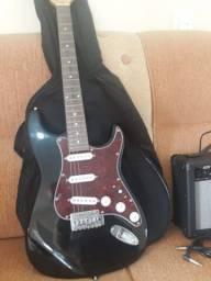 Guitarra Michael com amplificador Steinberg