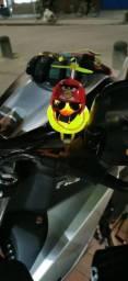 Patinho companheiro para moto e bike com luz