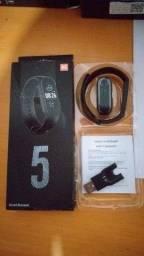 Pulseira Inteligente Smart M5 Smartwatch - Queima de Estoque
