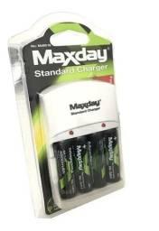 Título do anúncio: Kit Pilhas Recarregável Maxday 4800mah (Promoção)