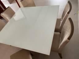 Mesa 1,40 x 1,40 - 6 cadeiras