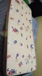 Vendo mine cama infantil mas o colchao