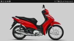Biz 110cc financiada entrada R $ - 2018