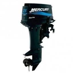 Vendo motor Mercury 25hp - 2013