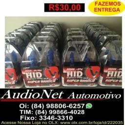 Lampada Super Branca Automotiva 8500k Carro Permitida H1 H3 H4 H7 H8 H11 Hb3 Hb4 H27 comprar usado  Natal