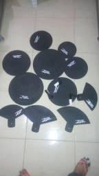 Abafadores para bateria acústica