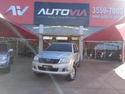 TOYOTA HILUX 2012/2013 2.7 SR 4X2 CD 16V FLEX 4P AUTOMÁTICO - 2013