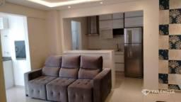 Apartamento com 2 quartos, sendo 1 suíte por R$ 1.900,00 - Edifício Valparaiso Centro - Ca