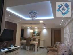 Apartamento com 3 dormitórios à venda, 121 m² por R$ 720.000 - Parquelândia - Fortaleza/CE