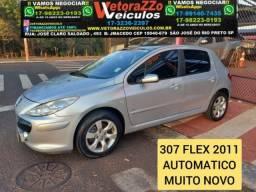 Peugeot 307 2011 2.0 feline 16v flex 4p automÁtico