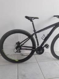 Bicicleta aro 29 freio hidráulico caloi