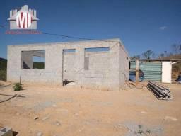 Chácara em construção, com 3 dormitórios, excelente localização, à venda em Pinhalzinho/SP