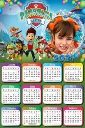 100 Calendários 2021 Infantil