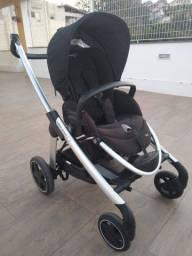 Super Oportunidade!!! Trio com carrinho, moisés e bebê conforto - Marca Bébé Confort/Elea