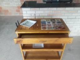 Mesa para assador