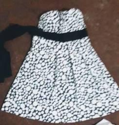 Vestido de bolinha com bojo
