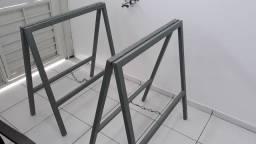 Cavalete de ferro galvanizado