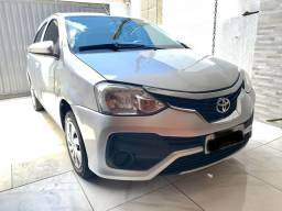 SÓ VENDA Toyota Etios hatch 1.3 Manual 2018
