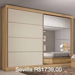 Roupeiro Sevilla roupeiro roupeiro guarda roupas casal