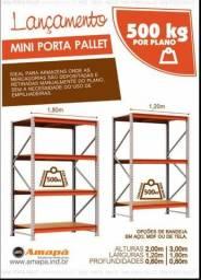 Mini Porta Pallet - Orçamento Grátis