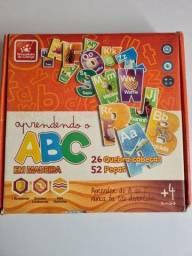 Título do anúncio: Jogo do alfabeto