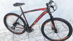 Bicicleta aro 29 KSW Shimano alumínio Nova!
